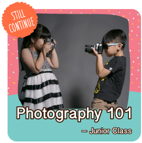 Photography 101 - Junior Class