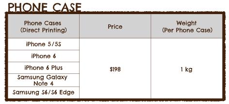 PhoneCase Pricing